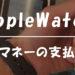 Apple WatchのApple Payが便利すぎる!レジでのクイックペイの使い方【動画解説】